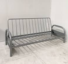 metal frame sofa bed silver sofa bed futon base double metal sofabed fr on sofa double