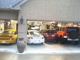 4 car garage size 4 cars in a 3 car garage pelican parts technical bbs