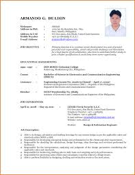 free resume templates new formats build your own latest format in