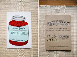 Backyard Wedding Invitations Jenny And Steve U0027s Handmade Backyard Wedding Detroit Wedding