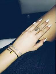 kylie jenner u0027s white nails u2014 get the look u2013 hollywood life