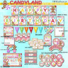 candyland party candyland party printable collection mimi s dollhouse