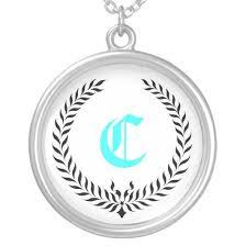 monogram pendants monogram pendants bridal shower ideas