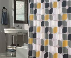 Gray And White Chevron Curtains by Curtains Fabulous Yellow And White Spotty Curtains Contemporary