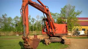 koehring excavator 450c hydraulic rams mp4 youtube