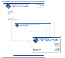 corporate identity templates in color themes in adobe acrobat