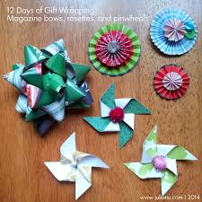 paper gift bows so this is julie how to wrap gifts