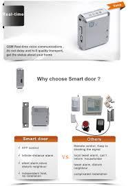 mini smart door alarm gsm sim card tracker magnetic with vibration
