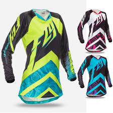womens motocross jersey fly racing kinetic race womens off road dirt bike racing motocross