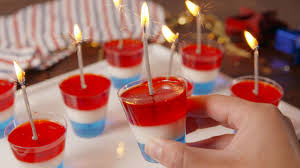 13 red white and blue jello shots for 4th of july patriotic jell