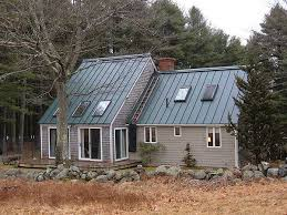 houses with green metal roofs hartford green exterior