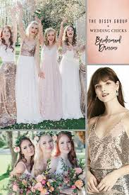 these rose gold bridesmaid separates will make you melt