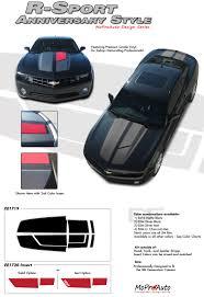 2011 camaro graphics 2011 2013 r sport 45th anniversary vinyl graphics for trunk