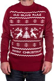christmas jumper guys rule christmas jumper with free uk delivery