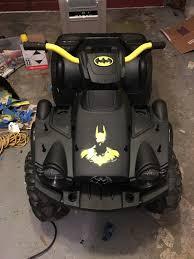 batman jeep batman powerwheels quad modifiedpowerwheels com