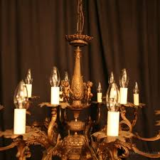 15 light chandelier antiques atlas an italian cherub 15 light antique chandelier