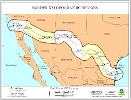 map usa mexico border map usa and mexico border major tourist attractions maps
