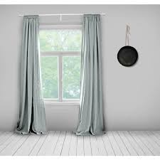 Pale Blue Curtains Grey Linen Light Grey Linen Fabric Grey Blue Pale Blue