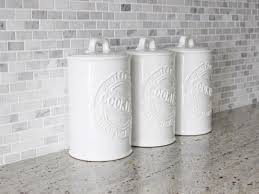Kitchen Ceramic Canisters White Canisters Pulliamdeffenbaugh Com