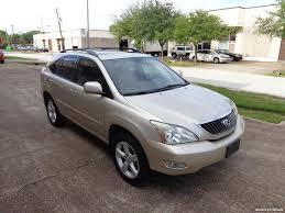 lexus rx 350 mpg 2008 lexus rx 350 for sale in houston tx stock 14616