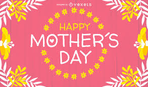 Mother S Day Designs Happy Mother U0027s Day Design With Badge Vector Download