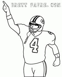 printable football coloring pages me sheets nfl college free