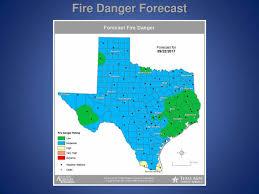 Texas Wildfire Danger Map by September 2017 U2013 Page 54 U2013 Texas Thunder Radio