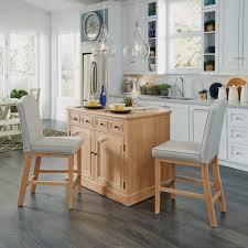kitchen island counter stools cambridge kitchen island with two counter stools homestyles