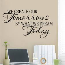 compare prices quotes inspirational online shopping buy creative our tomorrows dream today inspirational quotes vinyl wall sticker for kids rooms