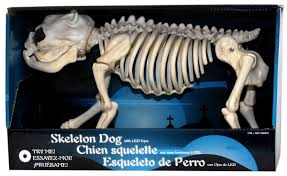 skeleton dog with led eyes dudeiwantthat com
