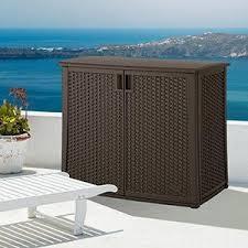 Build Outdoor Tv Cabinet Amazon Com Suncast Elements Outdoor 40 Inch Wide Cabinet