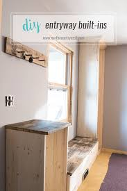 entryway built in cabinets one room challenge week five the built ins north country nest