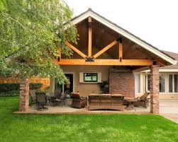 Backyard Covered Patio Ideas Traditional Patio Covered Patio Design Pictures Remodel Decor