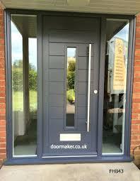 Glass Exterior Door Modern Front Doors With Glass Modern Glass Front Doors Uk Hfer