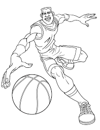 basketball coloring pages kids adults coloring