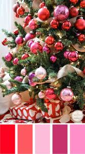 christmas color palettes christmas tree christmas colors and