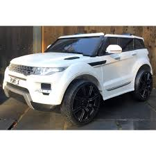 land rover hse white kids range rover hse sport 12v electric white