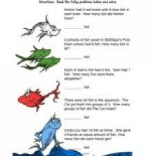 Havefunteaching Com Math Worksheets Dr Seuss Math Worksheet Teaching