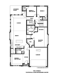 cypress ii home plan by bloomfield homes in stone ranch