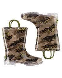 light up rain boots western chief construction light up rain boots carters com