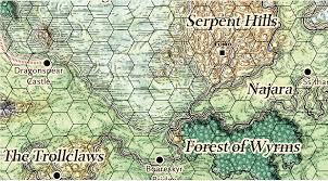 Map Of Faerun The Rise Of Tiamat Revisited The Tomb Of Diderius Merric U0027s Musings