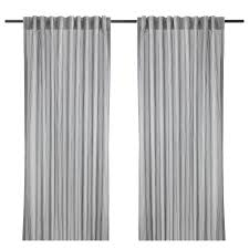 curtains living room bedroom curtains ikea gulsporre curtains 1 pair white gray length 98