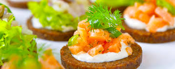 food canapes bowl food canapes catering lincolnshire salted orange
