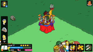 simpsons tapped out 2015 thanksgiving secret item