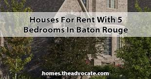 1 Bedroom Apartments For Rent In Baton Rouge For Rent With 5 Bedrooms In Baton Rouge