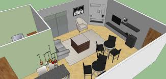 sxsw office layout sketchup model evstudio architect engineer living room