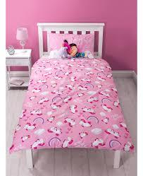 despicable me daydream fluffy unicorn single panel duvet cover set