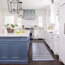 paint kitchen island white and blue kitchen features white cabinets painted benjamin