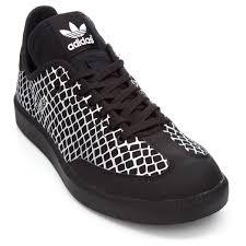black samba adidas samba mc metallic snake shoes