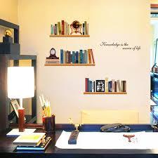 scaffali bambini studio elegante imitazione scaffali libri adesivo casa sticker